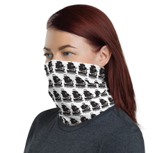 Load image into Gallery viewer, Pirate Ship Black Neck Gaiter