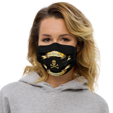 Pirate Mining Pool Premium face mask