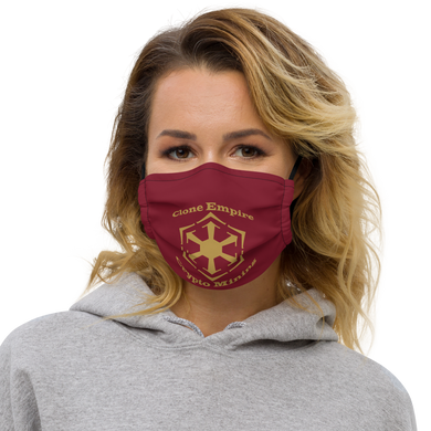 Clone Empire Crypto Mining Premium face mask