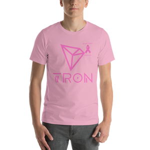 Tron Breast Cancer Awareness Short-Sleeve Unisex T-Shirt