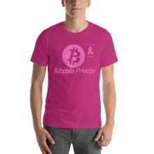 Load image into Gallery viewer, Bitcoin Private Breast Cancer Awareness Short-Sleeve Unisex T-Shirt