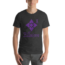 Load image into Gallery viewer, Ellaism Pancreatic Cancer Awareness Short-Sleeve Unisex T-Shirt