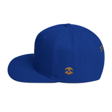 Load image into Gallery viewer, Pirate Ship Gold Snapback Hat