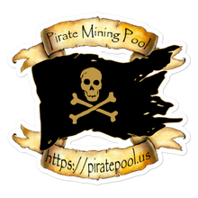 Load image into Gallery viewer, Pirate Mining Pool Skull and Cross Bones
