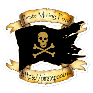 Pirate Mining Pool Skull and Cross Bones