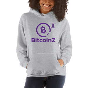 BitcoinZ Pancreatic Cancer Awareness Unisex Hoodie