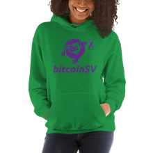 Load image into Gallery viewer, BitcoinSV Pancreatic Cancer Awareness Unisex Hoodie