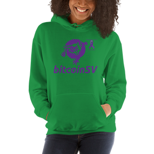 BitcoinSV Pancreatic Cancer Awareness Unisex Hoodie