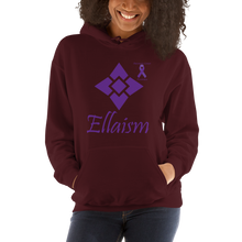 Load image into Gallery viewer, Ellaism Pancreatic Cancer Awareness Unisex Hoodie
