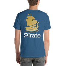 Load image into Gallery viewer, Pirate Ship Logo Short-Sleeve Unisex T-Shirt