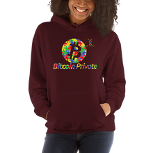 Load image into Gallery viewer, Bitcoin Private Autism Awareness Unisex Hoodie
