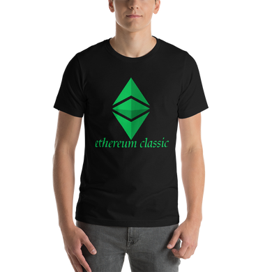 Ethereum Classic Front print Only Short-Sleeve Unisex T-Shirt