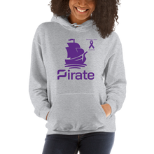 Load image into Gallery viewer, Pirate Pancreatic Cancer Awareness Unisex Hoodie