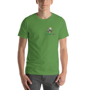 Cannabis Coin Short-Sleeve Unisex T-Shirt
