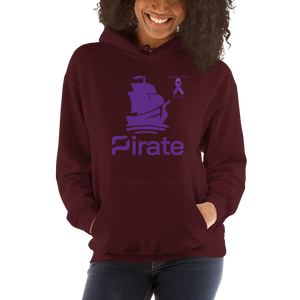 Pirate Pancreatic Cancer Awareness Unisex Hoodie