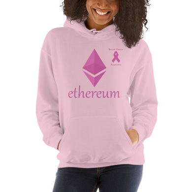 Ethereum Breast Cancer Awareness Unisex Hoodie