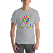 Load image into Gallery viewer, Zcash Autism Awareness Short-Sleeve Unisex T-Shirt
