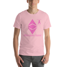 Load image into Gallery viewer, Ethereum Classic Breast Cancer Awareness Short-Sleeve Unisex T-Shirt