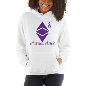 Ethereum Classic Pancreatic Cancer Awareness Unisex Hoodie