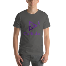 Load image into Gallery viewer, Callisto Pancreatic Cancer Awareness Short-Sleeve Unisex T-Shirt
