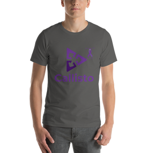 Callisto Pancreatic Cancer Awareness Short-Sleeve Unisex T-Shirt