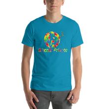 Load image into Gallery viewer, Bitcoin Private Autism Awareness Short-Sleeve Unisex T-Shirt