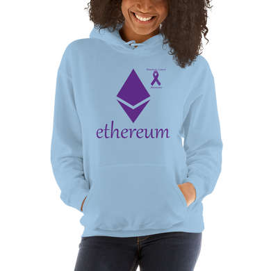 Ethereum Pancreatic Cancer Awareness Unisex Hoodie