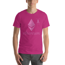 Load image into Gallery viewer, Ethereum Breast Cancer Awareness Short-Sleeve Unisex T-Shirt