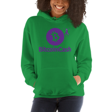 Load image into Gallery viewer, Bitcoin Cash Pancreatic Cancer Awareness Unisex Hoodie