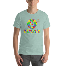 Load image into Gallery viewer, Bitcoin Autism Awareness Short-Sleeve Unisex T-Shirt