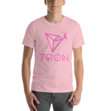Load image into Gallery viewer, Tron Breast Cancer Awareness Short-Sleeve Unisex T-Shirt
