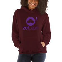 Load image into Gallery viewer, Zelcash Pancreatic Cancer Awareness Unisex Hoodie