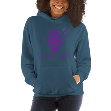 Load image into Gallery viewer, Ethereum Classic Pancreatic Cancer Awareness Unisex Hoodie