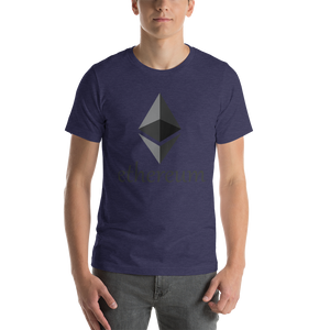 Ethereum Front Print Only Short-Sleeve Unisex T-Shirt