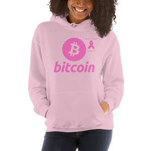 Bitcoin Breast Cancer Awareness Unisex Hoodie