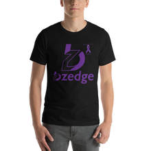 Load image into Gallery viewer, BZedge Pancreatic Cancer Awareness Short-Sleeve Unisex T-Shirt