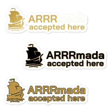 ARRRmada Stickers