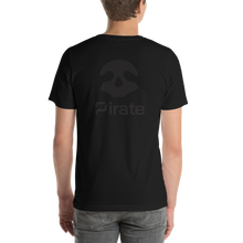 Load image into Gallery viewer, Pirate Skull Black Short-Sleeve Unisex T-Shirt