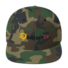 Load image into Gallery viewer, BitcoinSV Snapback Hat