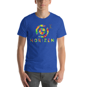 Horizen Autism Awareness Short-Sleeve Unisex T-Shirt