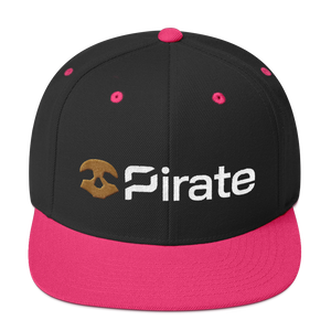 Pirate Chain Skull Snapback Hat