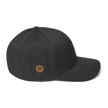 Load image into Gallery viewer, Pirate Ship Gold Structured Twill Cap