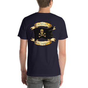Pirate Mining Pool Short-Sleeve Unisex T-Shirt