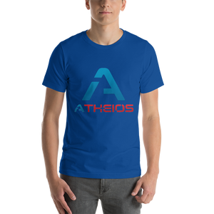 Atheios Front Print Only Short-Sleeve Unisex T-Shirt