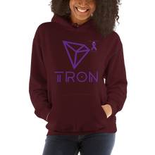 Load image into Gallery viewer, Tron Pancreatic Cancer Awareness Unisex Hoodie