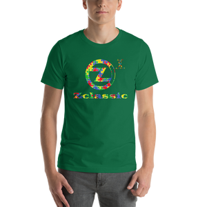 Zclassic Autism Awareness Short-Sleeve Unisex T-Shirt