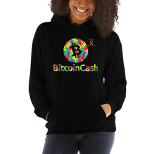 Load image into Gallery viewer, Bitcoin Cash Autism Awareness Unisex Hoodie