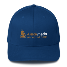 Load image into Gallery viewer, ARRRmada logo Structured Twill Cap