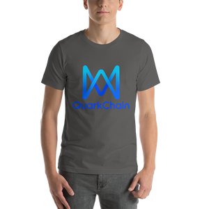 Quark Chain Front Print Only Short-Sleeve Unisex T-Shirt