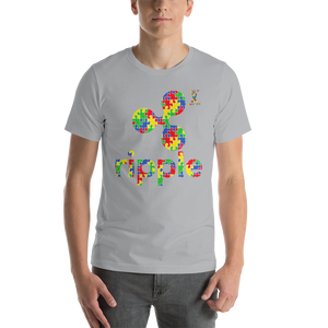 Ripple Autism Awareness Short-Sleeve Unisex T-Shirt